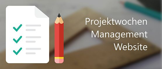 Design von Projektwochen-Management-Website