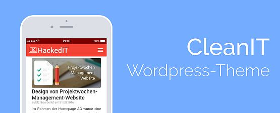 CleanIT Wordpress Theme